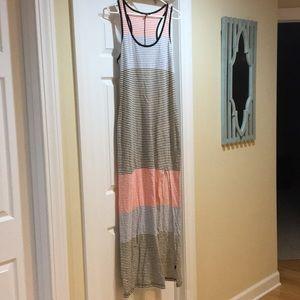 Express Stripes Maxi Dress